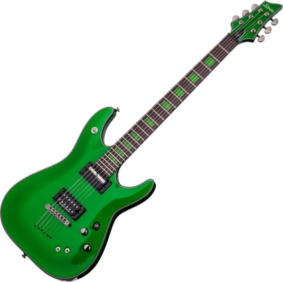 Schecter Signature Kenny Hickey Electric Guitar in Steele Green Finish sku number SCHECTER221