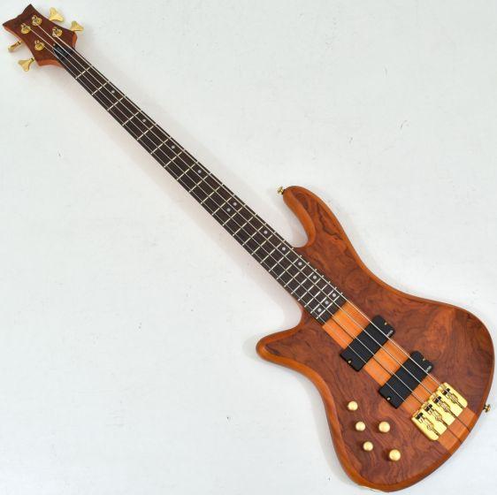 Schecter Stiletto Studio-4 Left-Handed Electric Bass Honey Satin sku number SCHECTER2760