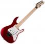 ESP LTD SN-200FR Maple Electric Guitar Black Cherry Metallic Satin LSN200FRMBCMS