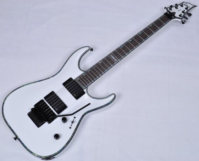 ESP LTD Deluxe H-1001FR Electric Guitar in Snow White LH1001FRSW
