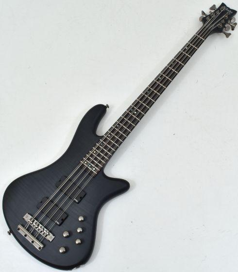 Schecter Stiletto Studio-8 Electric Bass See-Thru Black Satin sku number SCHECTER2742