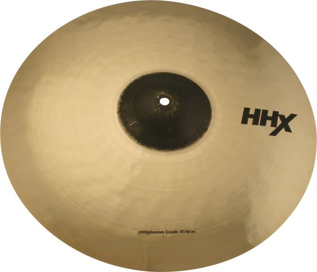 "Sabian 19"" HHX X-Plosion Crash Brilliant Finish 11987XB"