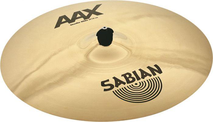 """Sabian 20"""" AAX Studio Ride Brilliant Finish 22010XB"""