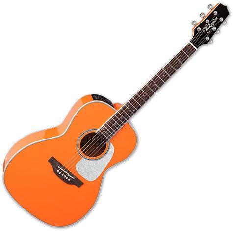 Takamine CP3NY OR New Yorker Acoustic Electric Guitar Gloss Orange TAKCP3NYOR