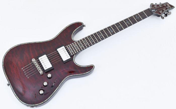 Schecter Hellraiser C-1 P Electric Guitar Black Cherry Prototype SCHECTER1939.P 3267
