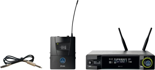 AKG WMS4500 Instrumental Set BD7 Reference Wireless Microphone System 3207Z00280