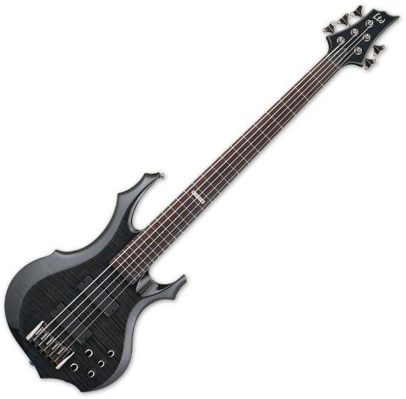 ESP LTD F-415FM Bass in See-Through Black LF415FMSTBLK