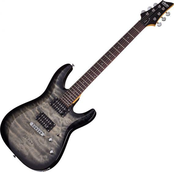 Schecter C-6 Plus Electric Guitar Charcoal Burst SCHECTER446