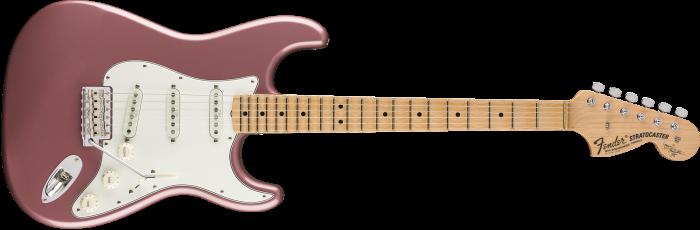 Fender Custom Shop Yngwie Malmsteen Signature Stratocaster  Burgundy Mist Metallic Electric Guitar 9235000896