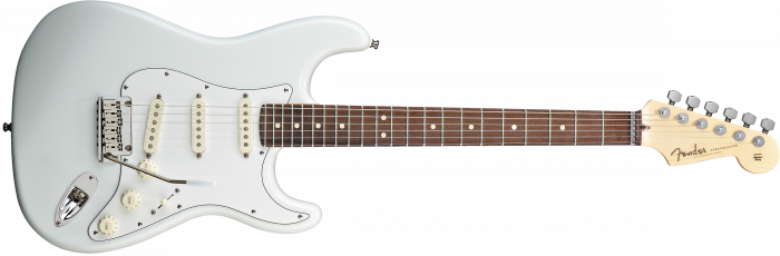Fender Custom Shop Jeff Beck Signature Stratocaster  Olympic White Electric Guitar 150083805