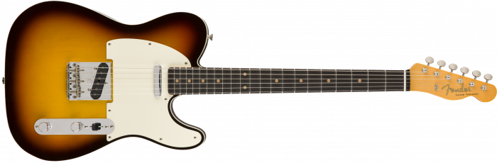Fender Custom Shop Vintage Custom 1959 Telecaster Custom  Chocolate 3-Color Sunburst Electric Guitar 9235000564