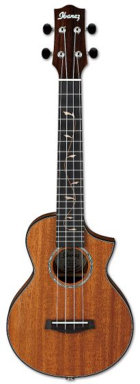 Ibanez UEW1MH Solid Mahogany Concert Ukulele w/ Bag and Fishman Pickup 6SUEW1MH