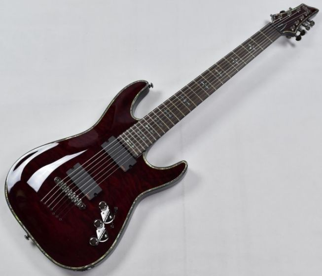 Schecter Hellraiser C-7 Electric Guitar Black Cherry SCHECTER1792