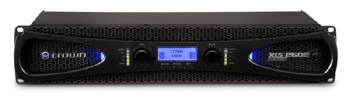 Crown Audio XLS2502 Two-channel 775W Power Amplifier NXLS2502-0-US