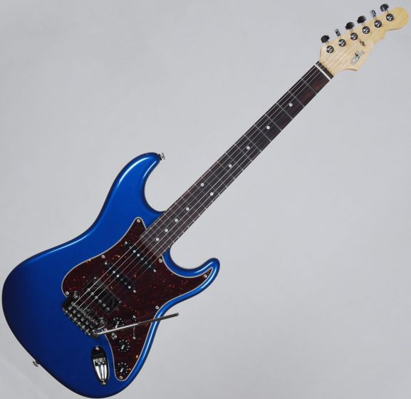 G&L USA Legacy HSS Electric Guitar Midnight Blue Metallic USA LGCYHB-MBM-RW 3032