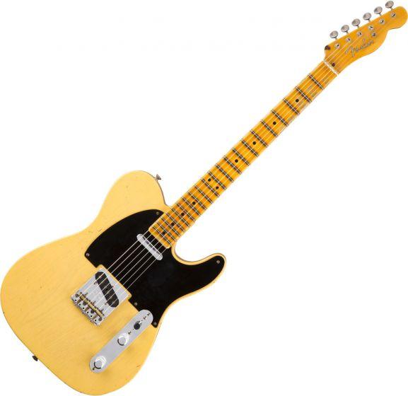 Fender Custom Shop 20th Anniversary Relic Nocaster Electric Guitar Nocaster Blonde 1510047899