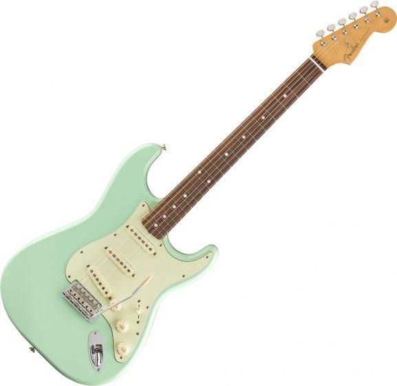 Fender Vintera 60s Stratocaster Electric Guitar in Surf Green 0149983357