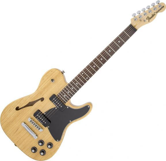 Fender Jim Adkins JA-90 Telecaster Thinline Semi-Hollow Electric Guitar Natural 0262354521