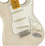 Fender Custom Shop 2018 Postmodern Stratocaster - Maple Fingerboard - Journeyman Relic  Aged White Blonde Electric Guitar 9235000567