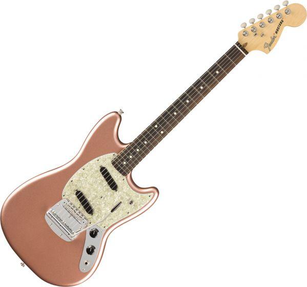 Fender American Performer Mustang Electric Guitar Penny 0115510384