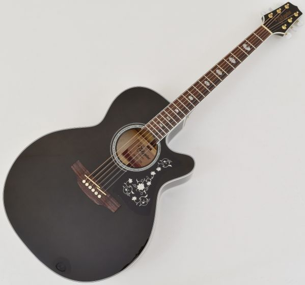 Takamine GN75CE NEX Acoustic Electric Guitar Transparent Black B Stock TAKGN75CETBK.B