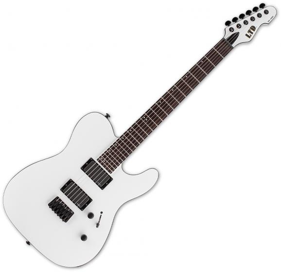 ESP LTD TE-401 Electric Guitar Snow White Satin LTE401SWS
