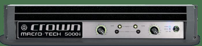 Crown Audio Macro-Tech MA 5000i Two-channel 2500W Power Amplifier GMA5000IDP-US