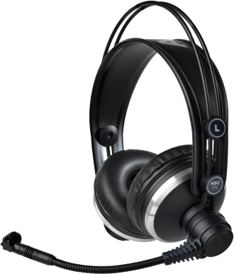 AKG HSC171 Professional Headsets With Condenser Microphone 2955X00280