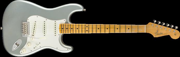 Fender Custom Shop 1965 Stratocaster Journeyman Relic - Maple  Faded Aged Ice Blue Metallic Electric Guitar 9235000828