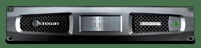 Crown Audio DCi 4|300N Four-channel 300W @ 4Ω Power Amplifier with BLU Link 70V/100V GDCI4X300N-U-US