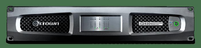 Crown Audio DCi 4|2400N Four-channel 2400W @ 4Ω Power Amplifier with BLU Link 70V/100V GDCI4X2400N-U-US
