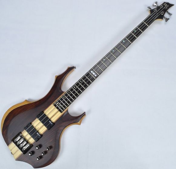 ESP LTD F-4E Bass in Natural Stain B-Stock sku number LF4ENS.B