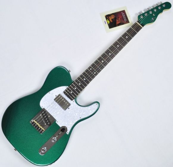 G&L ASAT Classic Bluesboy USA 35th Anniversary Guitar in Emerald sku number USA ASTCB-EMGRN-RW 3283