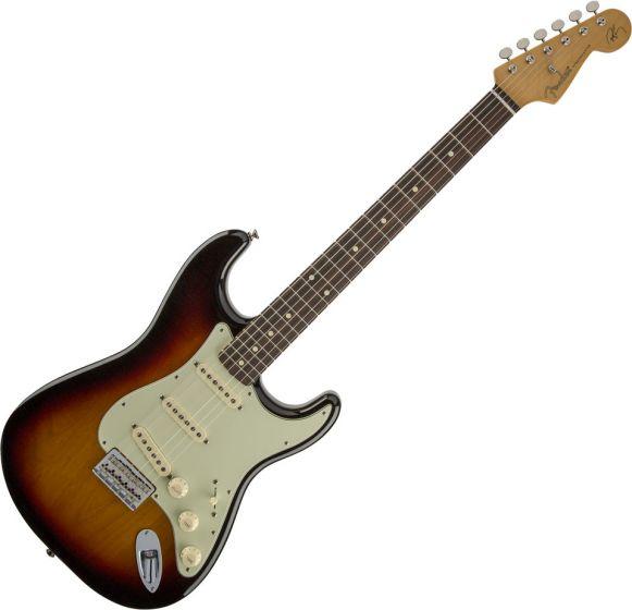Fender Robert Cray Stratocaster Electric Guitar in 3-Color Sunburst 0139100300