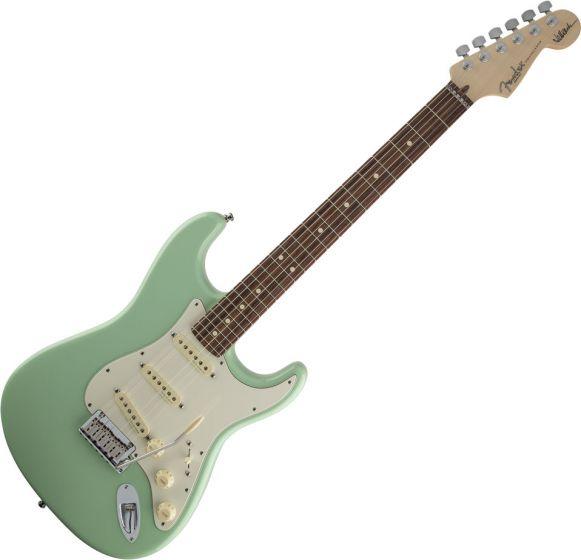 Fender Jeff Beck Stratocaster Electric Guitar in Surf Green 0119600857