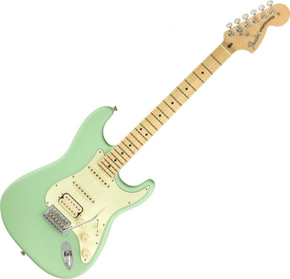 Fender American Performer Stratocaster HSS Electric Guitar in Satin Surf Green 0114922357