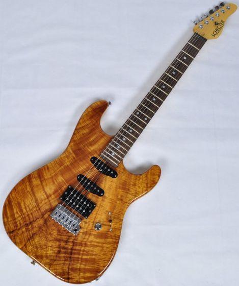 Schecter USA California Custom Elite Koa Top Electric Guitar SCHECTERUCCEKNATSH