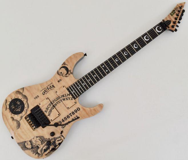 ESP KH-Ouija Kirk Hammett Japan Signature Guitar in Natural with Case EKHOUIJA
