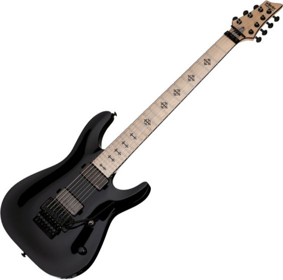 Schecter Signature Jeff Loomis JL-7 FR Electric Guitar Gloss Black SCHECTER418