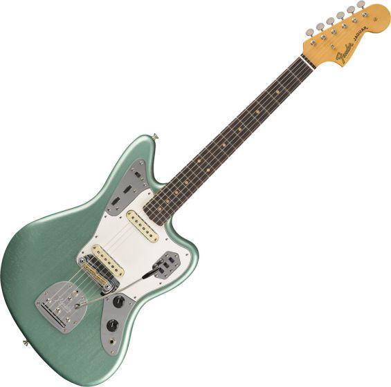 Fender Custom Shop 1964 Lush Closet Classic Jaguar Electric Guitar Aged Firemist Silver 9235000537