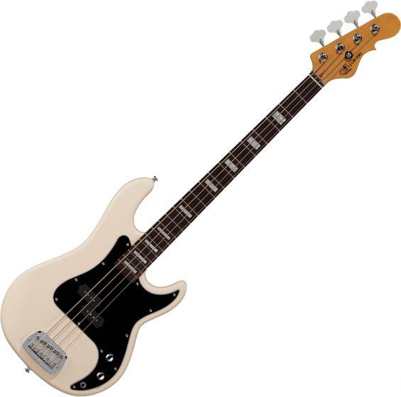 G&L Tribute LB-100 Electric Bass Olympic White TI-LB1-113R56R23