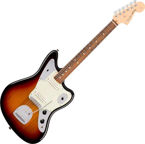 Fender American Professional Jaguar Electric Guitar in 3-Color Sunburst 0114010700