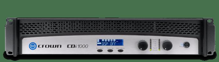 Crown Audio CDi 1000 Two Channel 500W Power Amplifier NCDI1000