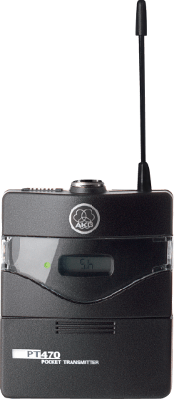 AKG PT470 BD8 Professional Wireless Body-Pack Transmitter 3302H00180