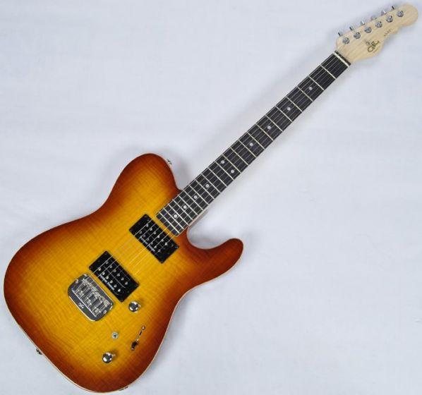 G&L ASAT Deluxe USA Custom Made Guitar in Tobacco Sunburst sku number 109208