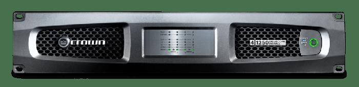 Crown Audio DCi 4|1250 Drivecore Install Analog Power Amplifier GDCI4X1250DA-U-US