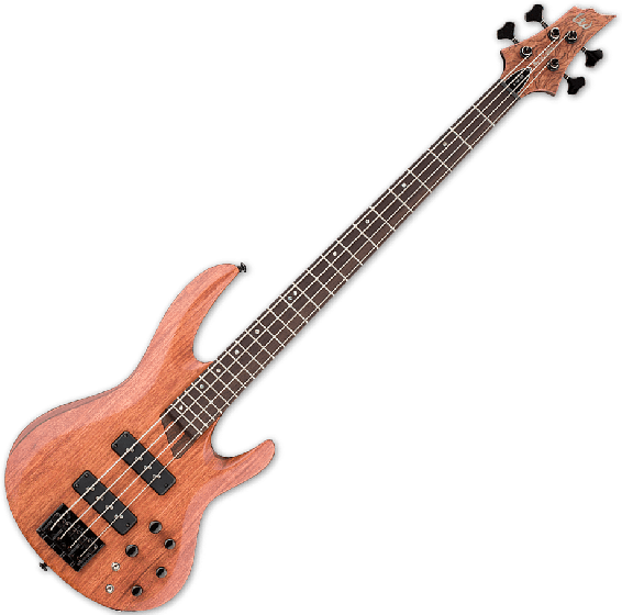 ESP LTD B-1004SE Bubinga Top Electric Bass in Natural Satin B-Stock LB1004SEBNS.B