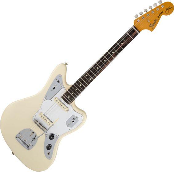 Fender Johnny Marr Jaguar Elecric Guitar in Olympic White 0116400705