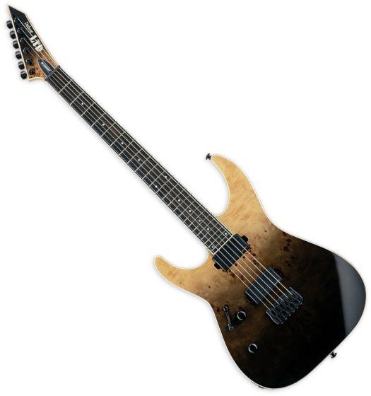 ESP LTD M-1000HT Electric Guitar Black Fade Left Hand sku number LM1000HTBPBLKFDLH