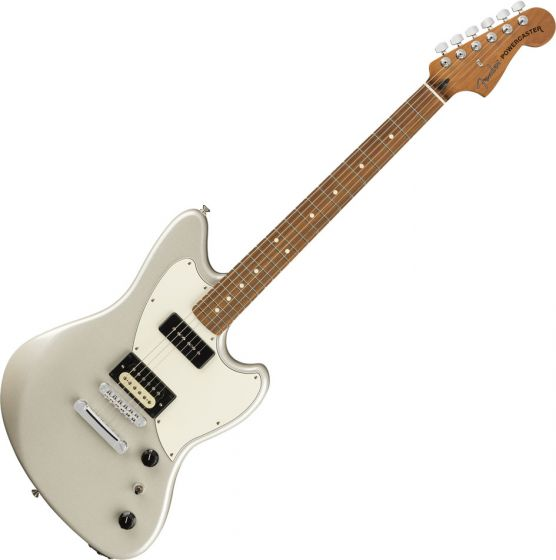 Fender The Powercaster Electric Guitar White Opal 0143523351